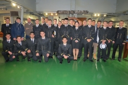 VISIT FROM THE ACADEMY OF MARITIME YDRAS / MARITIME ACADEMY (CAPTAINS)