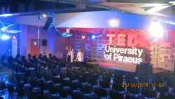 CULTURAL EVENT TEDX UNIVERSITY OF PIRAEUS
